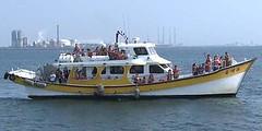 台中港觀光漁船。照片擷取自簡毓群影像作品 。