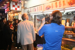 GV shots in Mongkok - Richard is hoping the director doesn't want him to sample the market food
