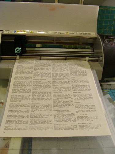 1 - Run paper through cutter