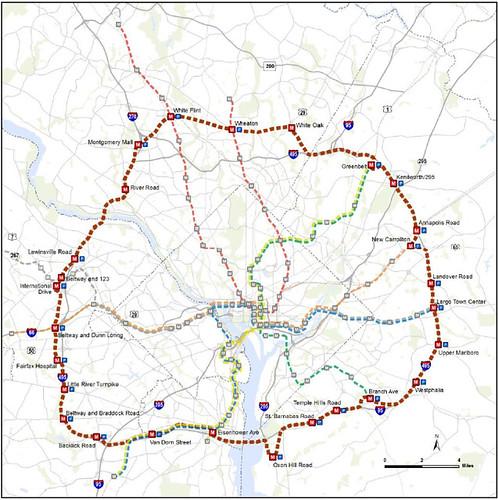 Metro - Capital Beltway Line