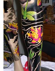Loto / Liblula (japaya) Tags: color tattoo oriental maniqui tradicional