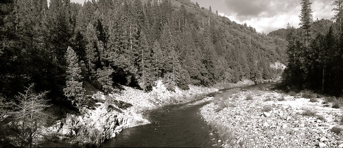 Looking East, North Fork Yuba River