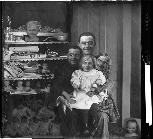 The Ventriloquist and His Figures