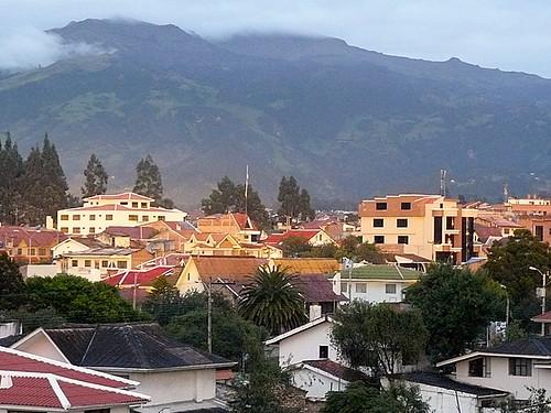 View from Cuenca condo