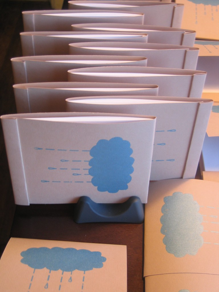 Raincloud notepads