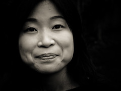 Faces of Japan IV (manganite) Tags: friends portrait people bw white black beauty face japan digital geotagged asian japanese interestingness nikon women asia pretty tl young explore  nippon d200 nikkor dslr nihon kanto tsuchiura ibaraki 50mmf18 mihoko interestingness379 i500 utatafeature manganite nikonstunninggallery date:year=2006 geo:lat=36091835 geo:lon=140203657 date:month=july date:day=2 date:mont=july format:ratio=43