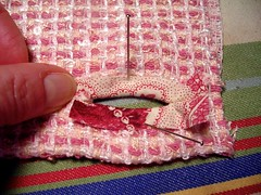 sample buttonhole back