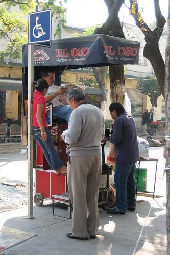 Limpiabotas, Coyoacan, Mexico City