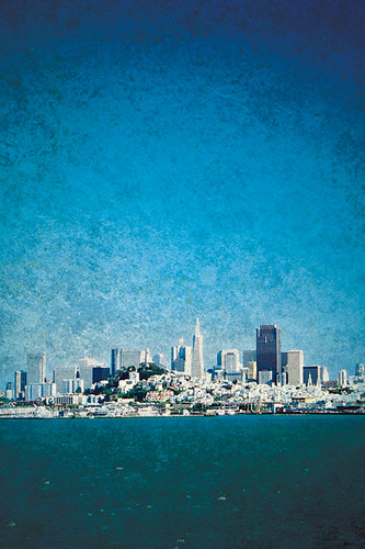 San Francisco Blue I by Iguana Jo