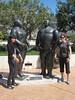 random statues