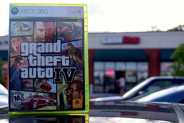 Day 43 -- Grand Theft Auto IV by John Cachero