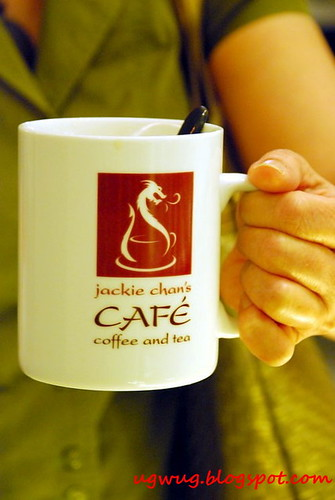 Coffee from Jackie Chan's Cafe