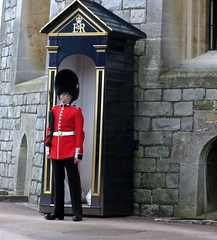 On Guard (Pitchside Photo) Tags: castle soldier guard royal queen windsor residence windsorcastle