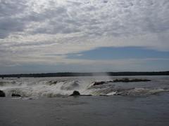 Iguazu - parc - chute d'eau - gargantua