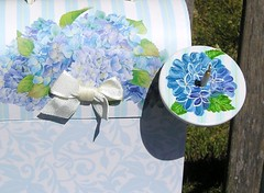 hydrangea spinning kit close