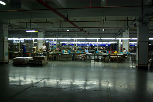 Mega Brands factory in Shenzhen