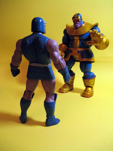 Darkseid and Thanos