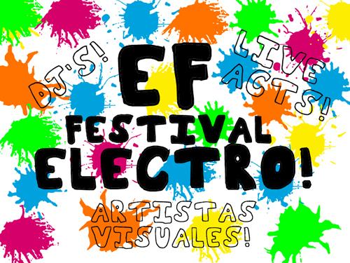 Afiche EF Festival