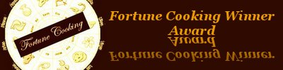 Fortune cookingAward