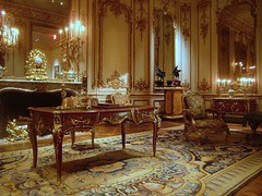 Room from the Htel de Varengeville, Paris (ggnyc) Tags: nyc newyorkcity newyork paris museum hotel woodwork desk manhattan room scrollwork met chinoiserie gilded foilage 18thcentury parisian rococo metropolitanmuseumofart paneling marquetry writingdesk htel aristocratic writingtable periodroom eighteenthcentury louisxv boiserie japanned jacquesgabriel palmettes sscrolls hteldevarengeville devarengeville charlotteangliquecourtin comtessedevarengeville mariemargueritedallegre louisquinze louisquinzestyle nicolaspineau cscrolls gillesjoubert