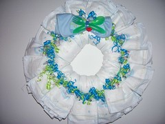 (lucasbutterfly) Tags: boy baby cute home cakes girl cake mom shower ribbons diaper business gifts help baskets hanging wreaths ideas babyshower pampers favors huggies diapercake diaperwreath