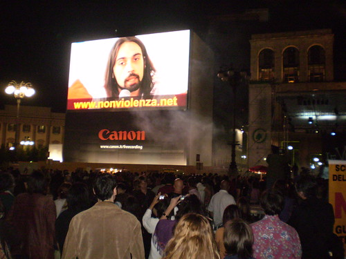 Concerto Vibrazioni in Piazza Duomo Milano