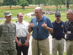 Jim Doyle in Mukwonago, Wi