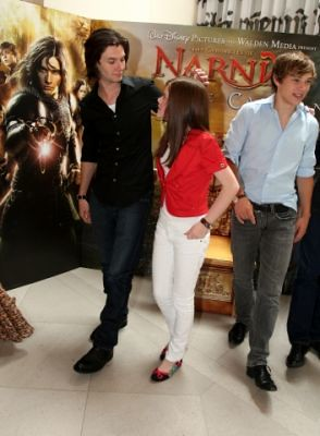 prince caspian press conference by Jess Doll