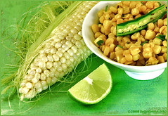 spiced corn