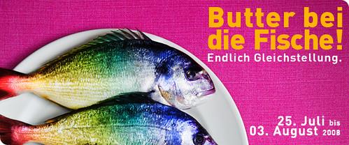 CSD Hamburg 08 Butter bei die Fische