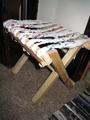 homemade stool