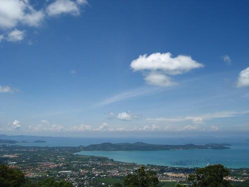 View from Big Buddha of Phuket