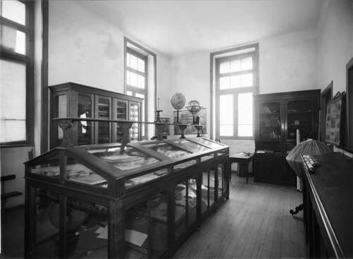 Sala de Ciências Naturais, Liceu Pedro Nunes (H. Novais, s.d.)