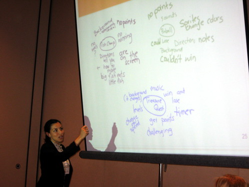 GLS 2008 - Alicia DIazgranados Explains Her Work With 2nd Graders and Scratch