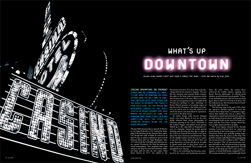 What's Up Downtown Feature Design