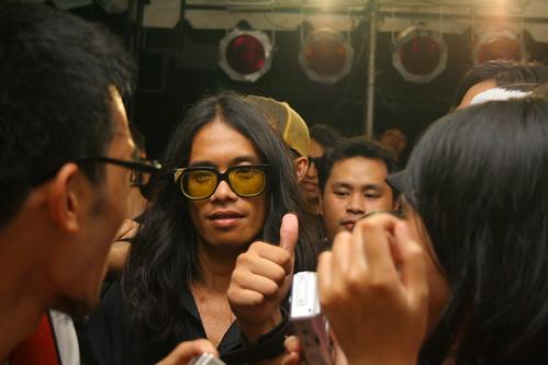 Tado at the Pedicab album launch
