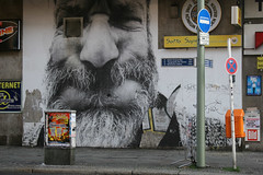 Streetart (mitue) Tags: streetart berlin jr facetoface nks