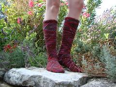 Swirl socks 01