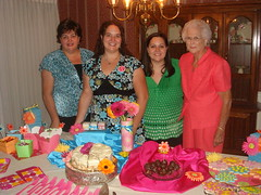 Bridal Shower with Smith Ladies