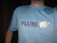 plurk tshirt