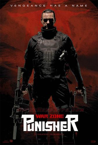Punisher: War Zone Movie Posters