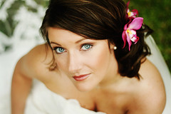 blushing bride (Kimberly Scott Photography) Tags: wedding canon bride women kim arkansas mm bridal 18 50 catchlight cotcmostfavorited overtheexcellence brimhall