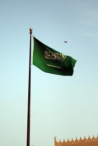 Bandera saudi por ti.