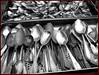 altes Silber (sulamith.sallmann) Tags: old bw berlin silver germany deutschland many alt sw 2008 metall fleamarket mitte viele löffel besteck stills challenger spoons nostalgie mauerpark fundstücke nostalgy silber flohmarkt accumulation antik trödelmarkt silberbesteck nostalgisch metallisch sulamithsallmann bwartaward fu0 silberlöffel küchenkram