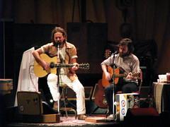 Eddie Vedder & Liam Finn, NYC (riotonsunset) Tags: nyc summer rock concert solo eddievedder liamfinn unitedpalacetheatre mickarieta