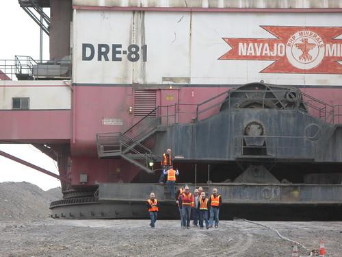 navajo mine marion 7920 dragline foot a photo on flickriver