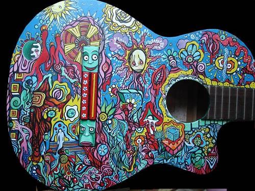 Depret - DeviantART artist character guitar art