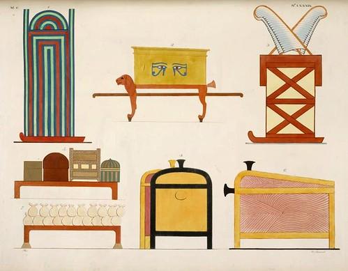 17- Mobiliario variado para contener vestidos y otros ornamentos