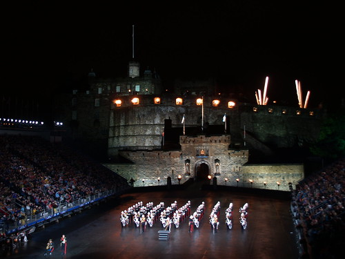 Edinburgh Military Tattoo 7th Aug 2008. Edinburgh Military Tattoo 7th Aug 2008. Stand East Row ZD seat 9