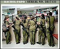 Foto de adolescentes soldado en la web de Rachel Papo
